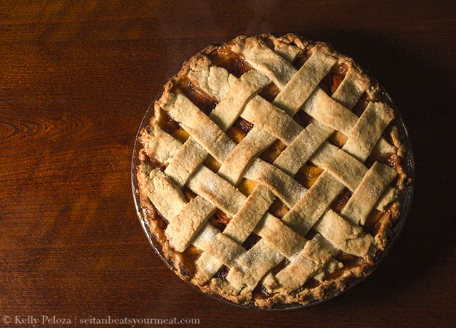 Vegan Peach Pie