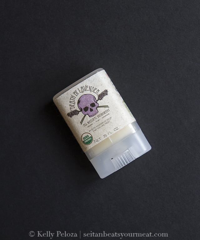 Vegan Cuts Beauty Box: Death By Lavender Natural Deodorant