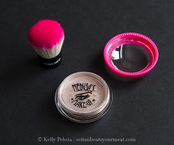 Medusa's Makeup Body Shimmer and Kabuki Brush