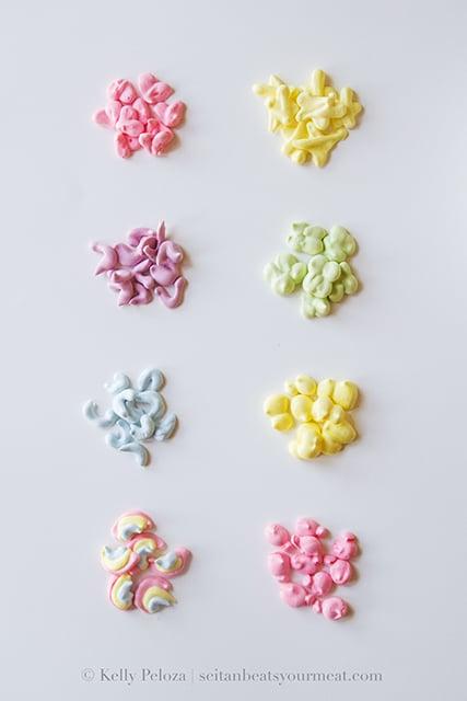 Homemade Lucky Charms marshmallows