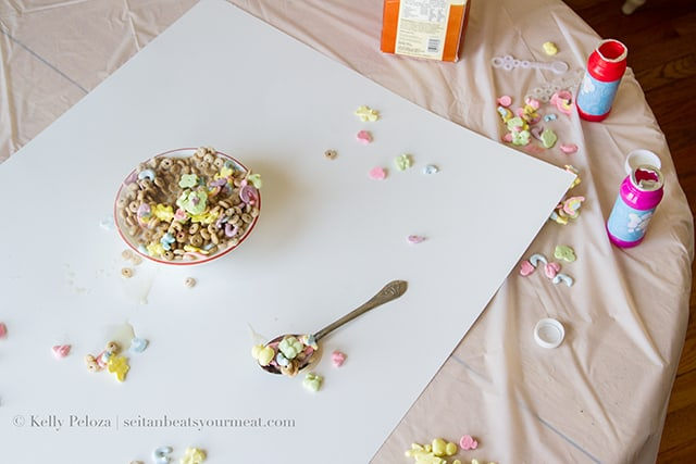Vegan Lucky Charms Recipe Made With Aquafaba
