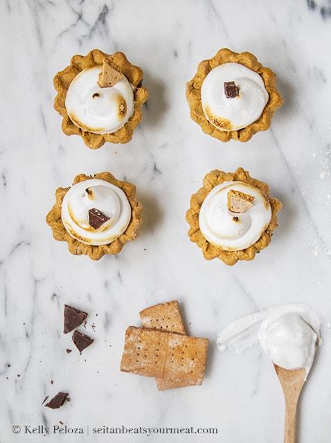Vegan S'mores Pie
