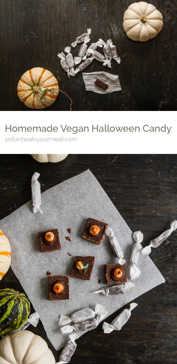 Homemade vegan Halloween candy | Seitan Beats Your Meat