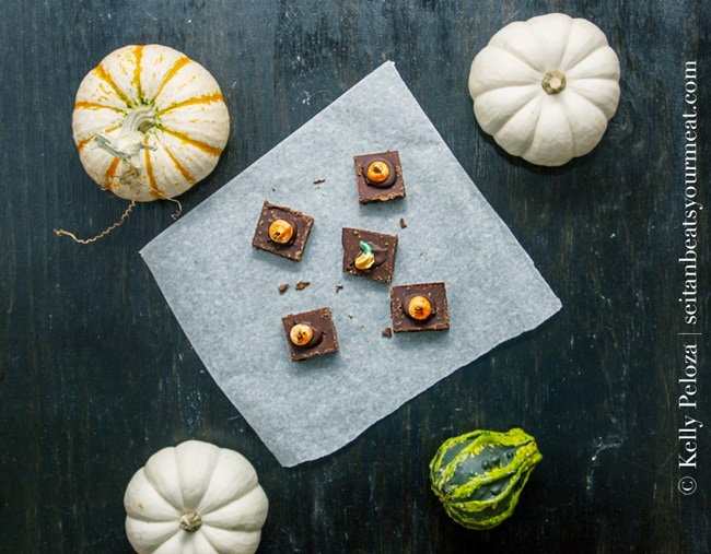Vegan Halloween Candy: Pumpkin Spice Fudge recipe