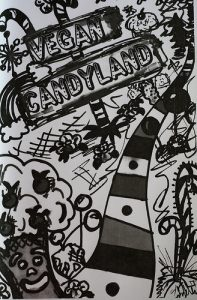 Cover of Vegan Candyland zine