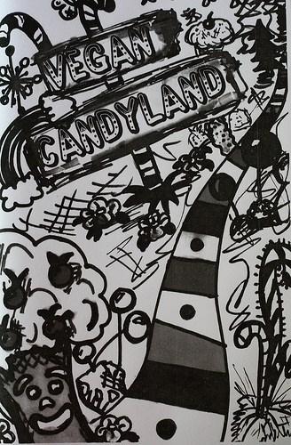Vegan Candyland zine