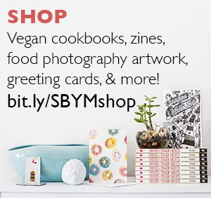 Shop for vegan cookbooks, zines, food photography artwork, greeting cards, and more