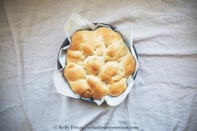 Vegan Homemade Hawaiian Bread