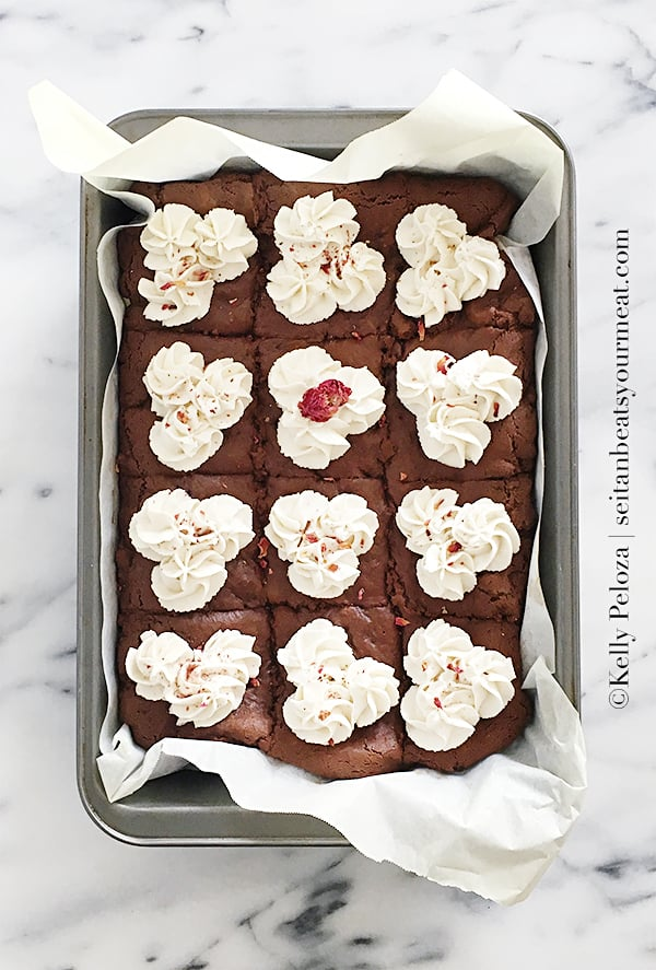 vegan-butterscotch-rose-brownies