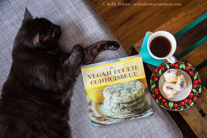 Vegan cookie cookbook giveaway