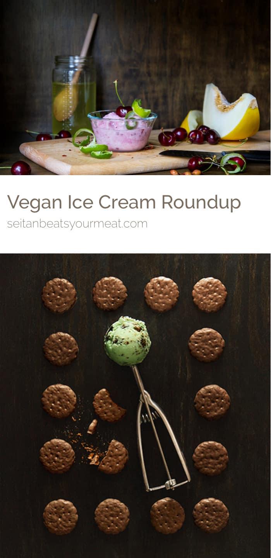 Vegan ice cream photos