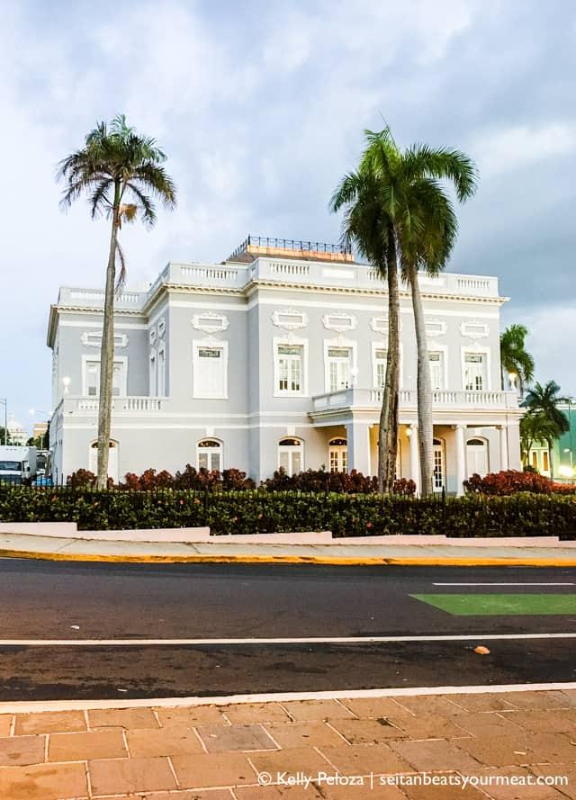 Antiguo Casino in Old San Juan, Puerto Rico