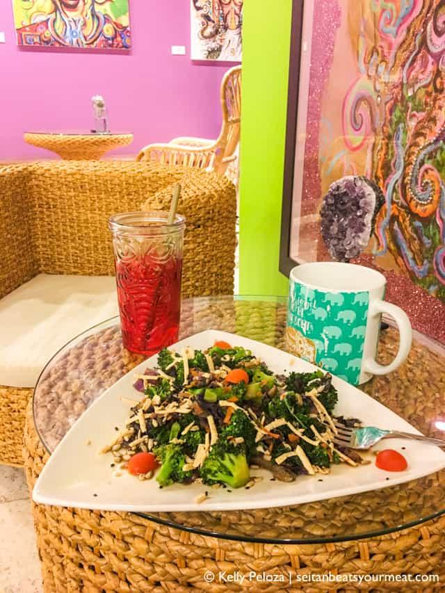 Suka vegan restaurant in Condado | Solo trip to Puerto Rico on Seitan Beats Your Meat