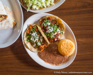 Vegan Mexican food in Chicago at Quesadilla La Reina del Sur