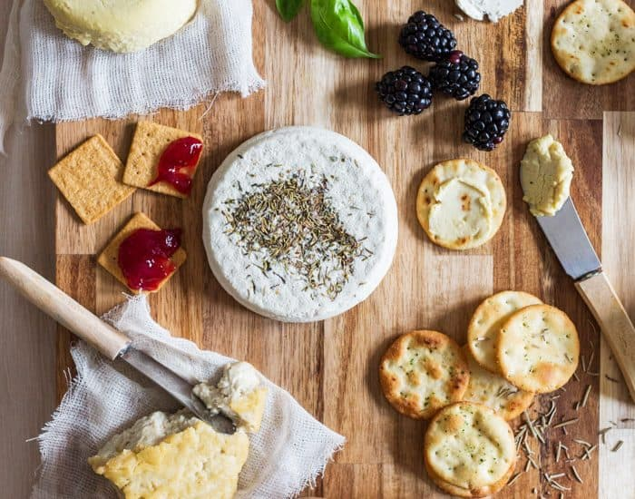Artisan Vegan Cheese board