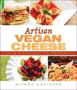 Image of book cover of Artisan Vegan Cheese by Miyoko Schinner